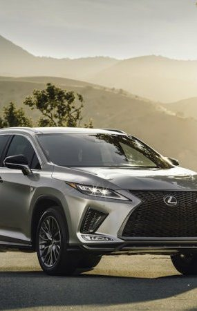 2020 Lexus RX Gets IIHS Top Safety Pick Rating