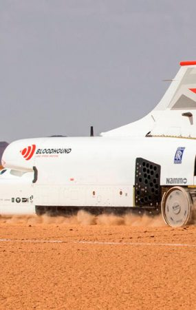 Bloodhound LSR Hits 1,010 KPH in 50 Seconds