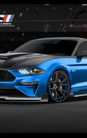 Ford Previews Two Mustangs and Three F-150s Built for SEMA