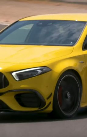 This 2020 Mercedes-AMG A45 S Defies its Speed Limiter