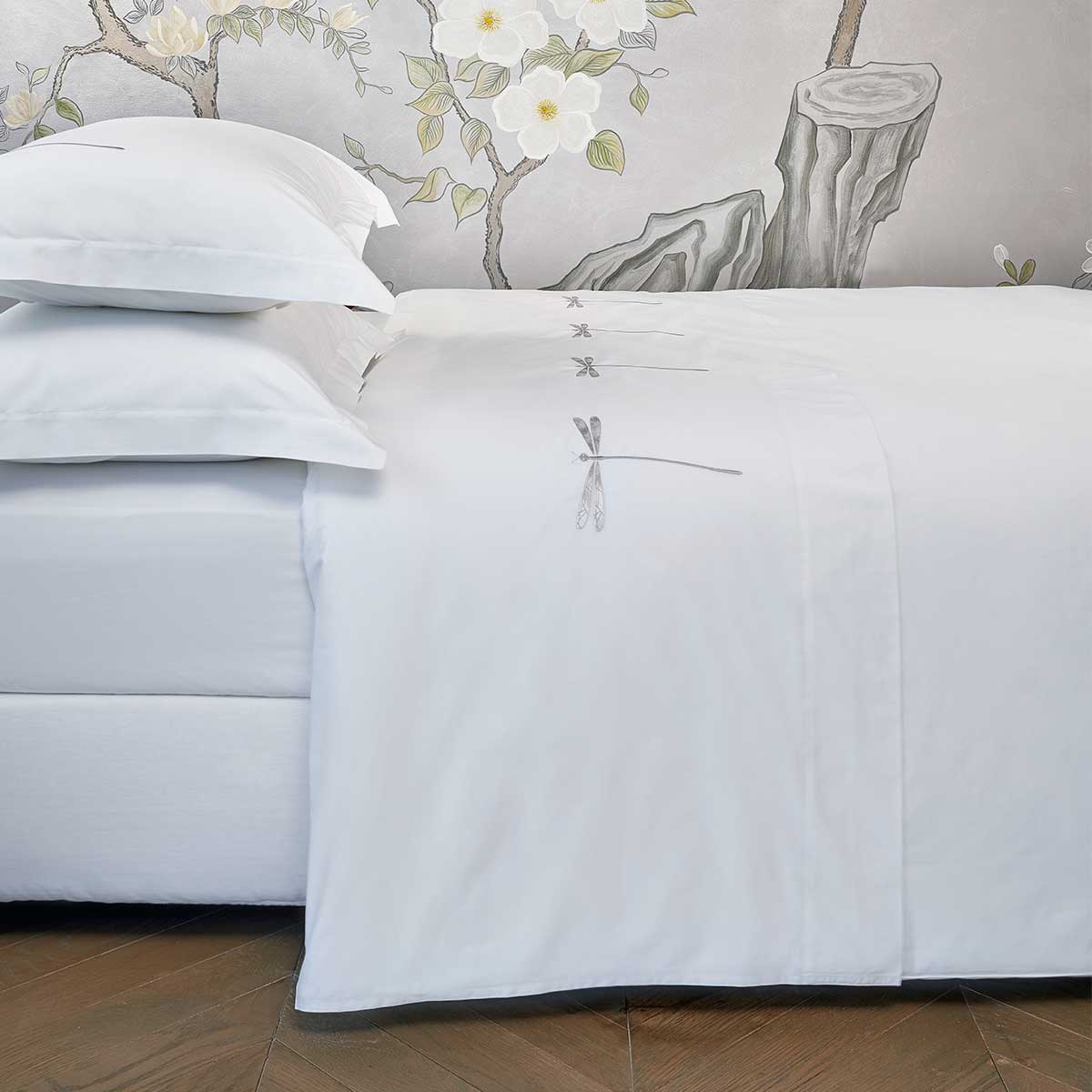 dragonfly top sheet white