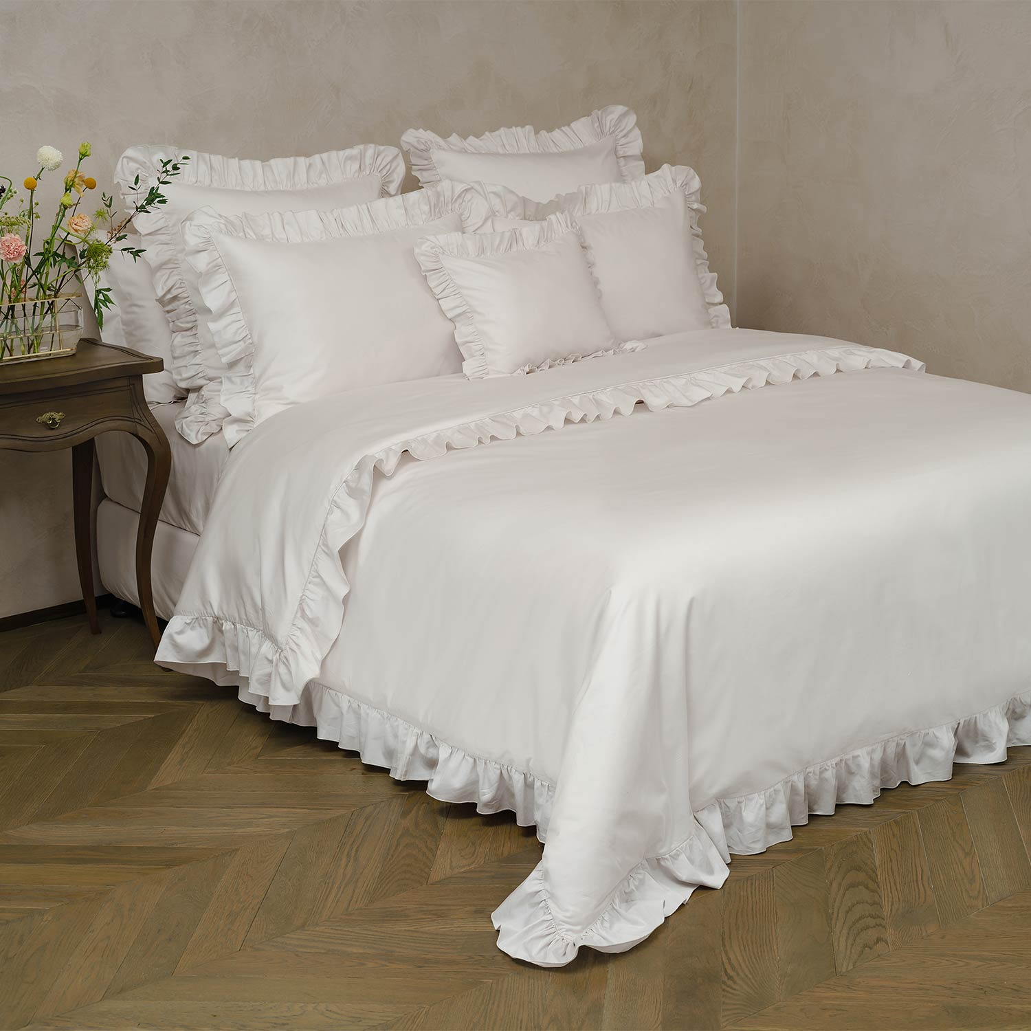 Frou Frou Pair of Cushion Covers