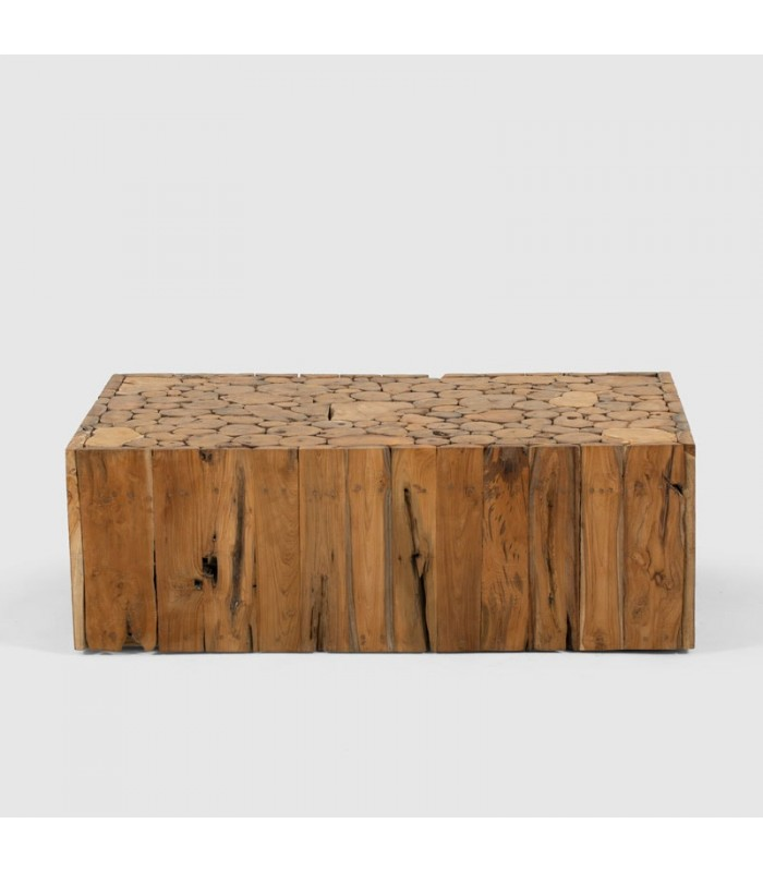 Lyra Teakroot Rectangular Coffee Table For Sale