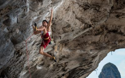 What climbing shoes do the professionals wear?