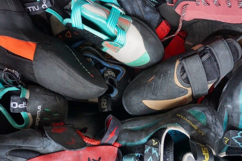 How to store climbing shoes