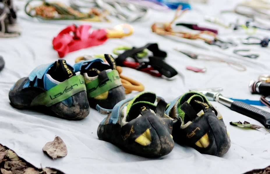 What to do with old climbing shoes