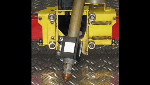 CNC Plasma Cutters Magnetic Breakaway Torch Mount: another feature to save time and cost
