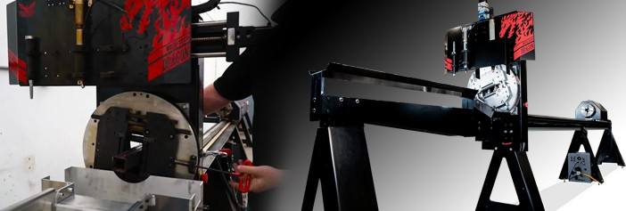 How to Load Tube on the Bend-Tech Dragon A400 CNC Pipe Cutter