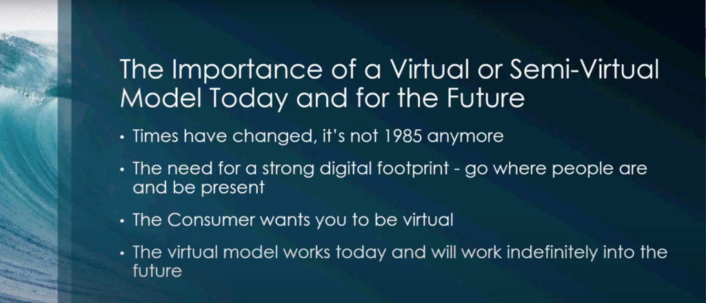 the importance of working virtually