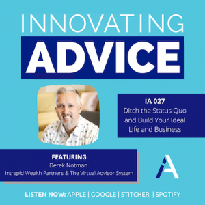 innovating advice podcast finding your ideal client