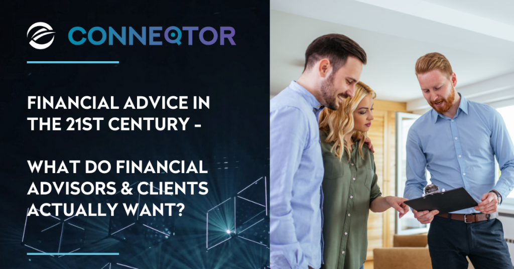 Financial advice in the 21st century