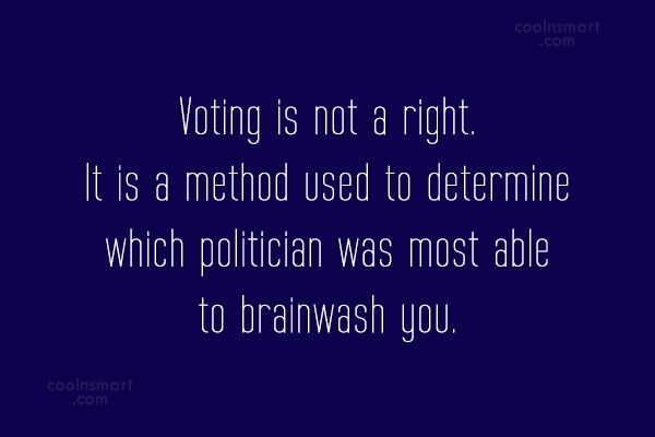 Vote Wisely Quotes 5