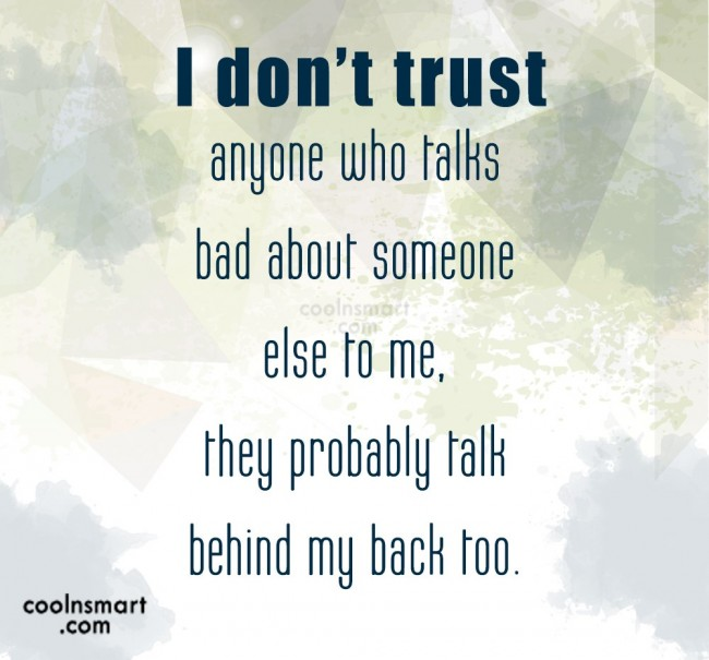 Don T Trust Anyone Quotes 1