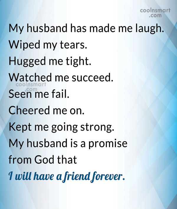Proud Of My Husband Quotes 1