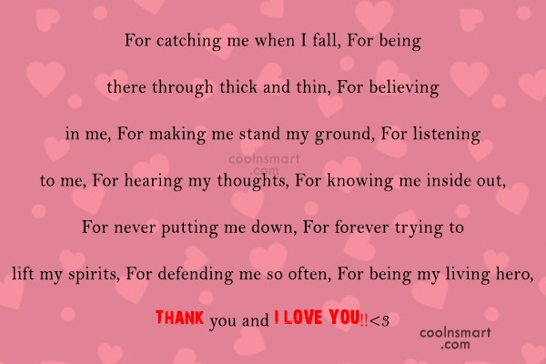 Thank You For Loving Me Quotes 5