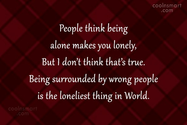 Alone Images With Quotes 2