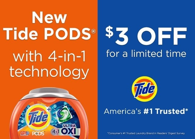 Coupon Tide Pods