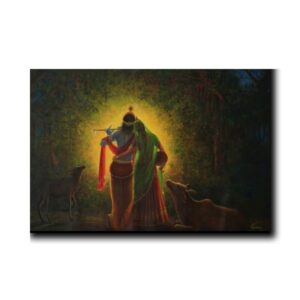 Krishna-Paintings-For-Bedroom-aura-of-radha-krishna