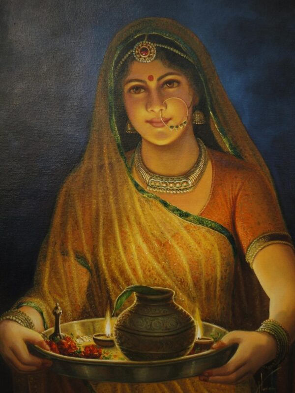 """Gateway Of Happiness """"Woman - The Real Deity"""" 