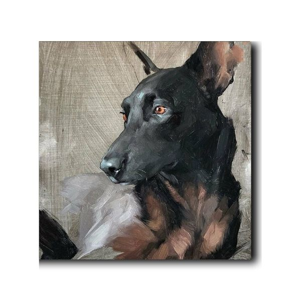 dog paintings online