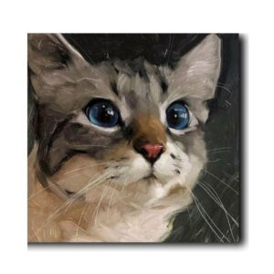 Customized Kitten Paintings Online-1