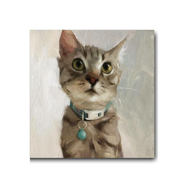 Beautiful Kitten Paintings-1