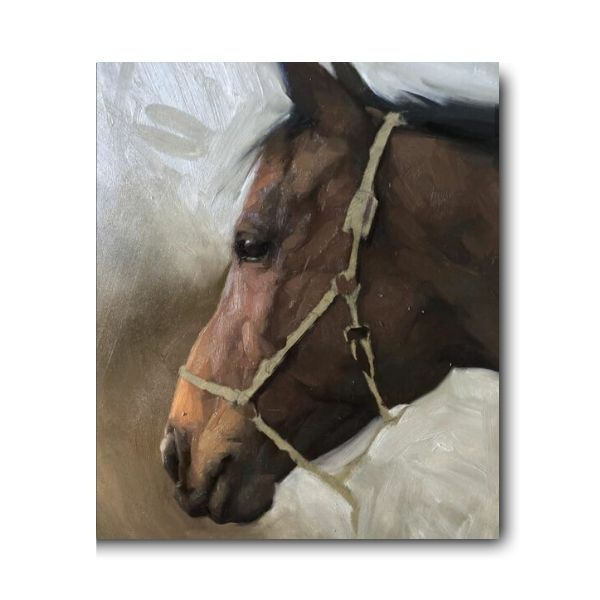 Oscar Horse Painting | Oil On Canvas