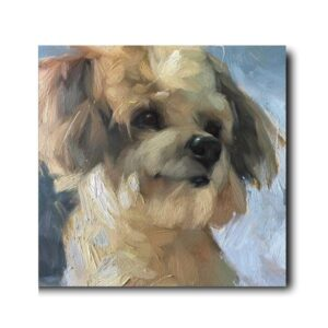 dog paintings for sale-2