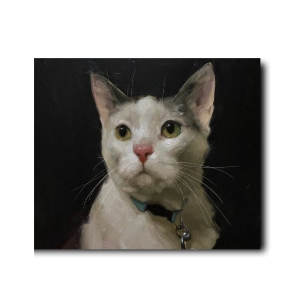 handmade cat paintings-1