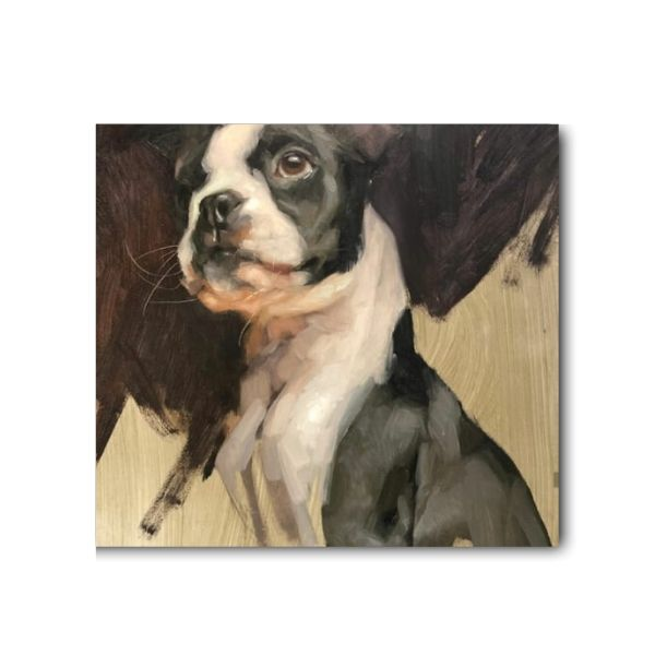 dog painting for sale-1