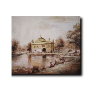 art-of-punjab-paintings-guru-ghar-that-sails-on-purity