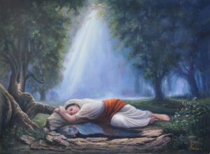 Krishna in Meera - When your thoughts become your reflection