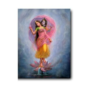 bestseller-oil-paintings-lotus-the-platform-of-their-beloveds