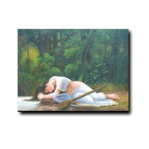 meera-longing-for-a-found-love-oil-painting