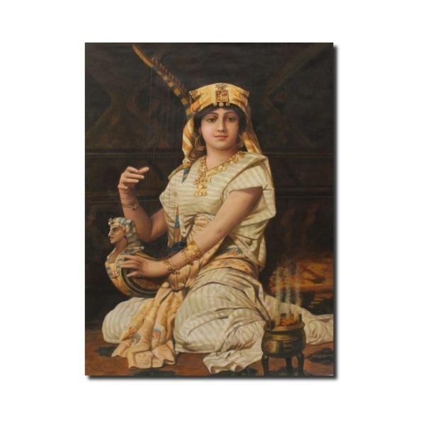 historical paintings-Historical Artwork By Mohan Lal Sharma | Oil On Canvas