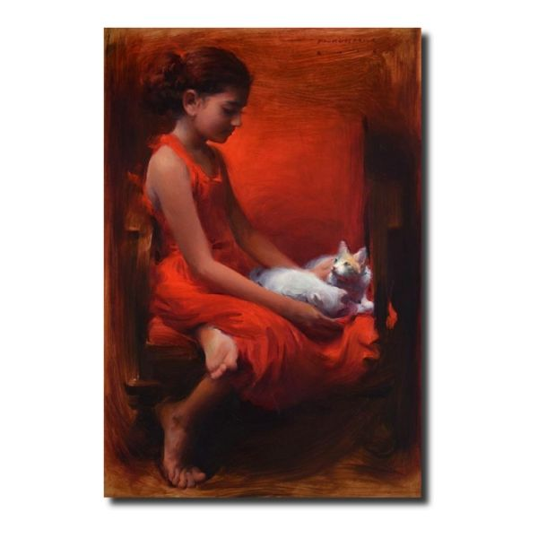 Paintings for sale gratitude-by-pramod-kurlekar-oil-painting