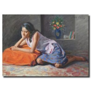 Indian Art For Sale by Sanjay Shelar oil-painting-by-sanjay-shelar-5