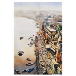 Banaras (Vol I) | Watercolor Painting by Ranjeet Singh