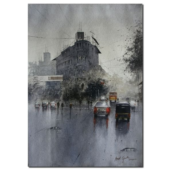 Rainy Season (Vol II) | Water Color Painting By Atul Gendle
