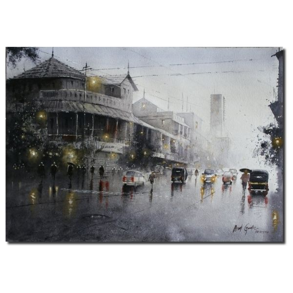 Rainy Season (Vol I) | Water Color Painting By Atul Gendle