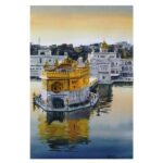 Golden Temple   Watercolor Painting by Ranjeet Singh