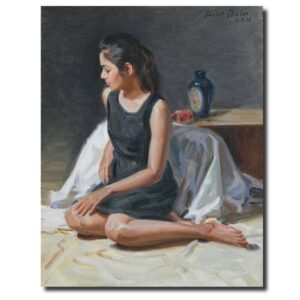 Indian Paintings for Sale by Sanjay Shelar oil-painting-by-sanjay-shelar-6