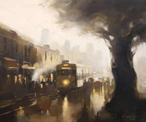 After Light   Acrylic Painting by Ananta Mandal   30×36