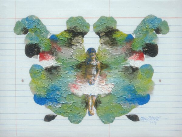 Butterfly | Acrylic Painting by Manoj Kumar Sakale