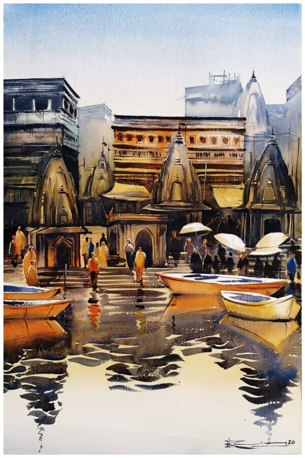 Colors Of India | Watercolor Painting by Ranjeet Singh