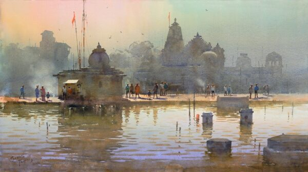 Crowning Glory | Water Color Painting By Prafful B. Sawant