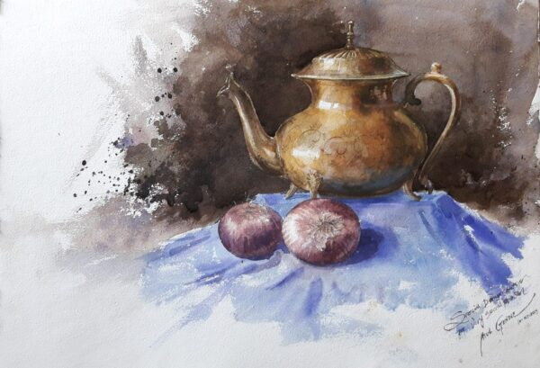 Still Life | Water Color Painting By Atul Gendle