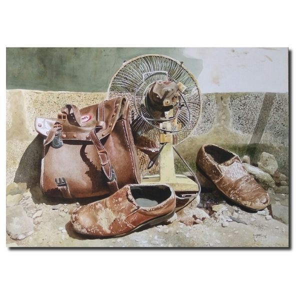 Valueables | Still Life Watercolor Painting by Raghunath Sahoo | 22x28