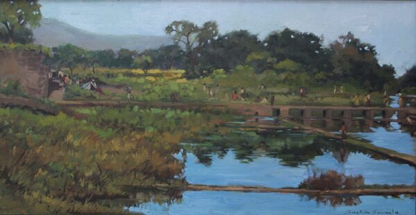 ss-2-landscape-2-oil-on-canvas-painting-by-sachin-sawant-17x32