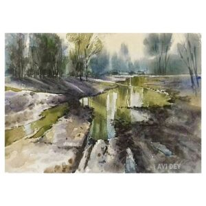 Watercolor Landscape Paintings | Original Artwork For Sale